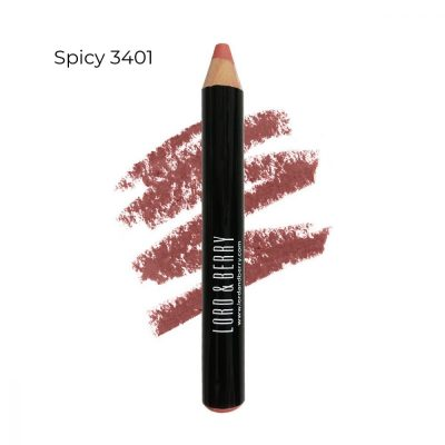 Lord & Berry 20100 Maximatte Crayon Lipstick Spicy 3401