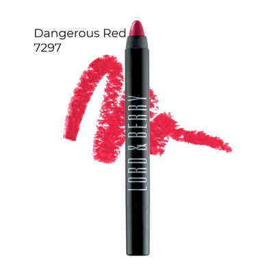 Lord & Berry 20100 Shining Crayon Lipstick Dangerous Red 7297