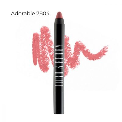 Lord and Berry Adorable Matte Crayon Lipstick. The best lipstick vegan lipstick