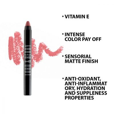 Lord and Berry 20100 Matte Crayon Lipstick